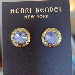 NEW HENRI BENDEL RARE TRI COLOR MERMAID EARRINGS